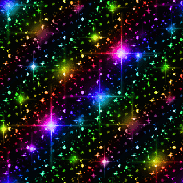 Rainbow Colors Glitter Background Pattern
