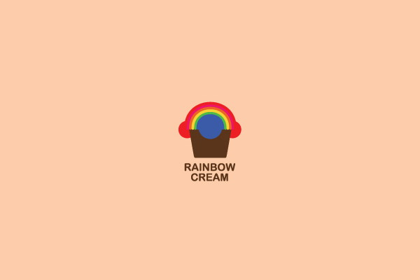 Rainbow Cream Logo