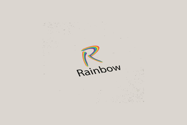 Rainbow Logo Design