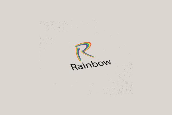 Rainbow Logo Design