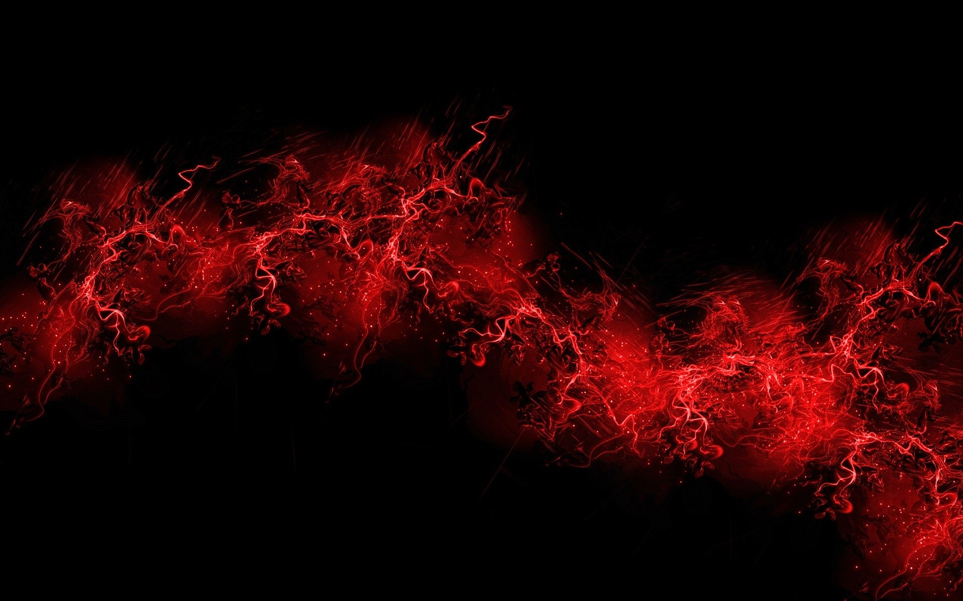 Red & Black Background Wallpaper