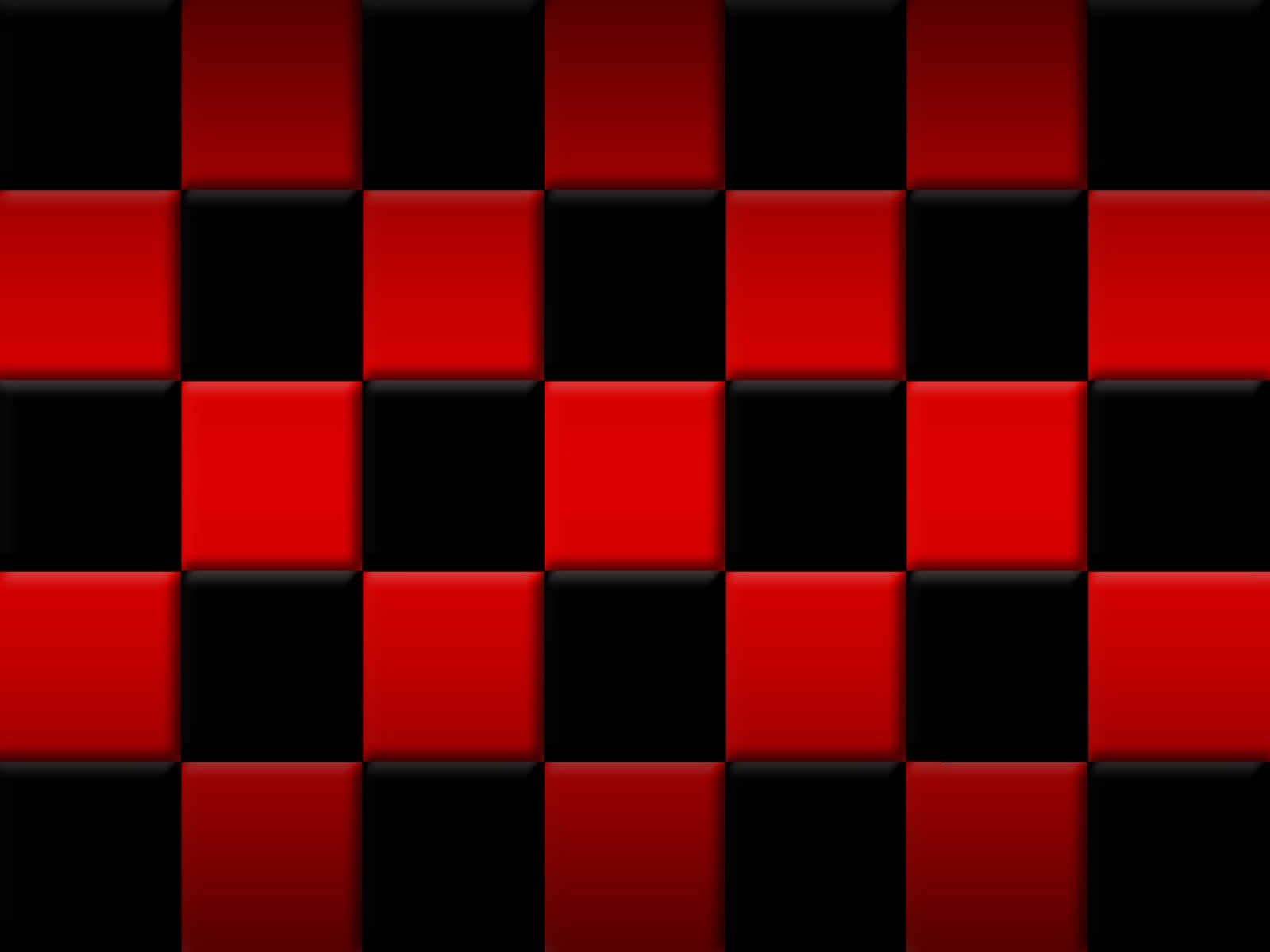 Red & Black Squares Wallpaper