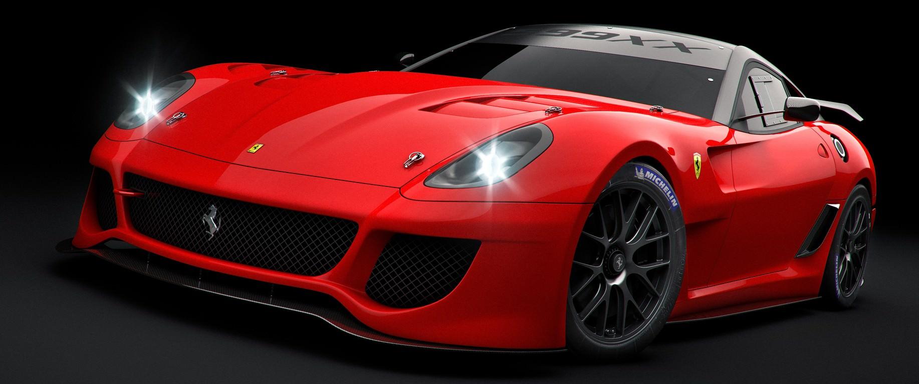 Red Le Mans Ferrari Wallpaper