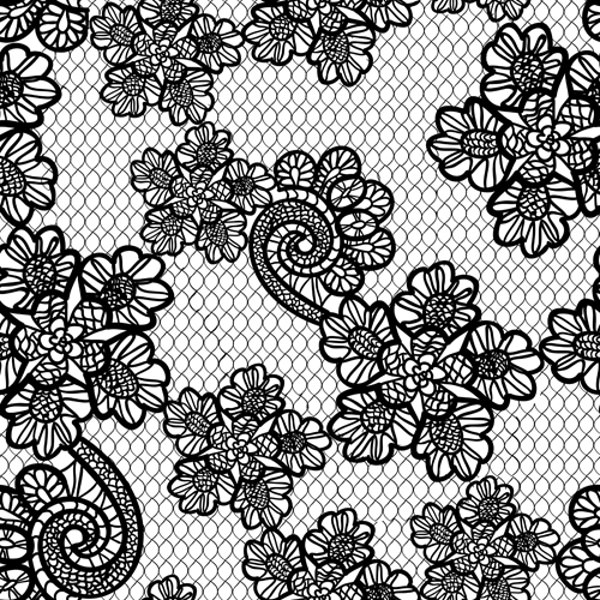 Retro Lace Ornament Pattern