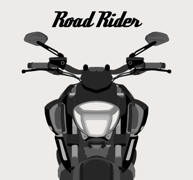 Road Rider Free Vector Graphics