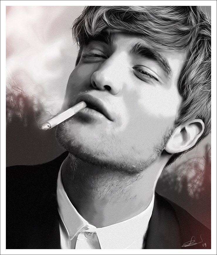 Robert Pattinson Digital Painting