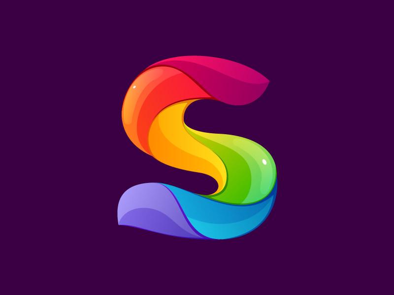 S Logo 15+ Rainbow Logos, Log...