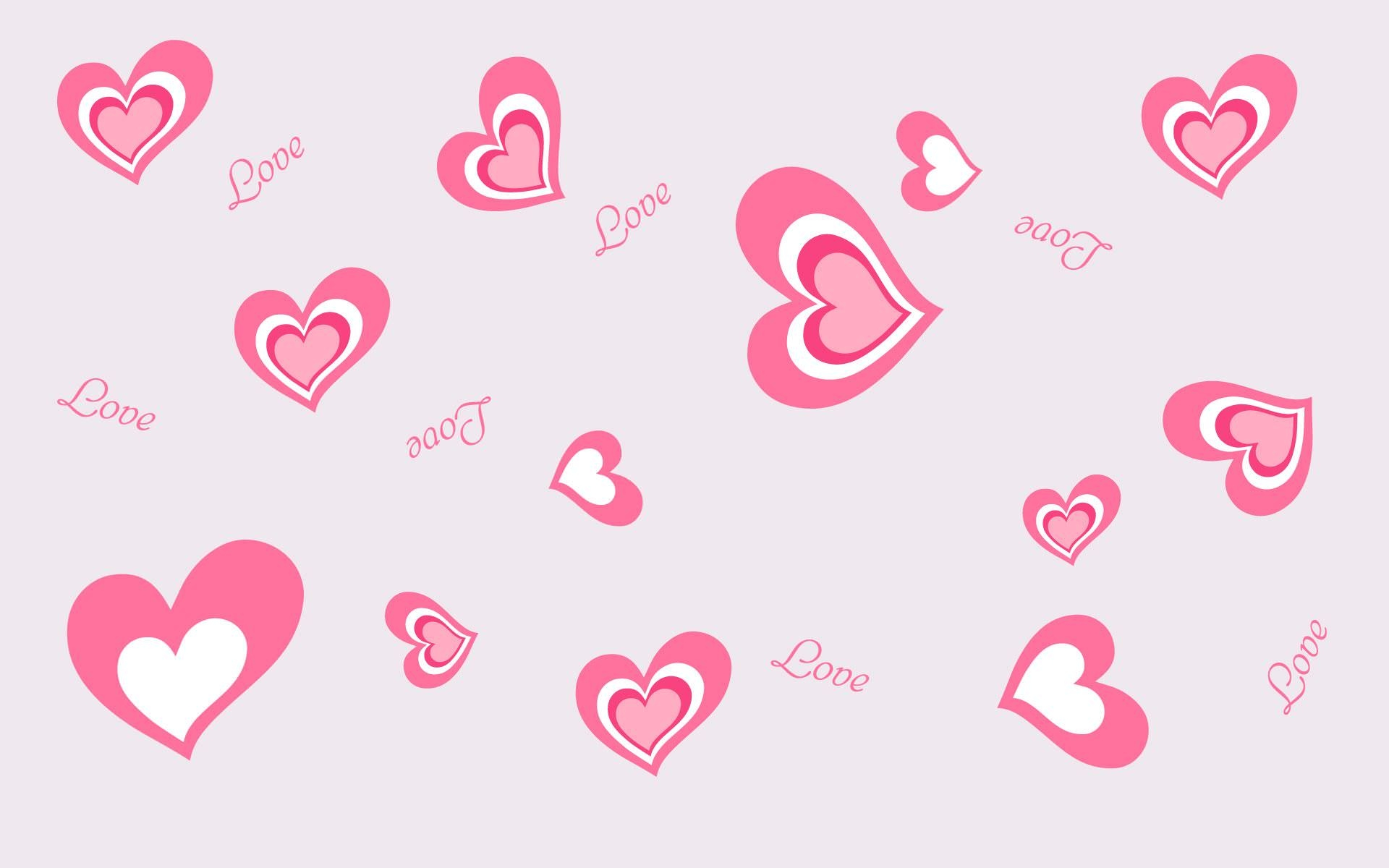 Saint Heart Love Background
