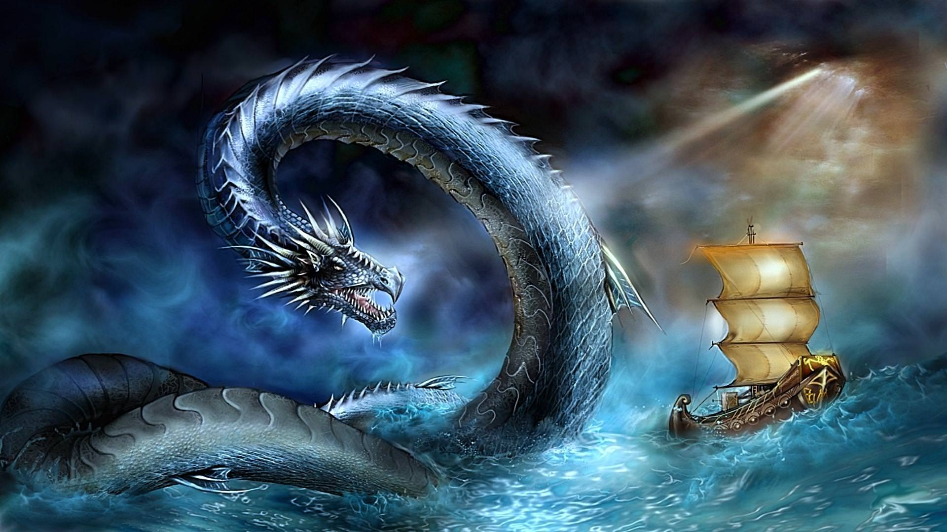 Sea Dragons Wallpaper
