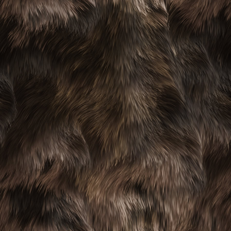 Seamless Animal Fur Texture