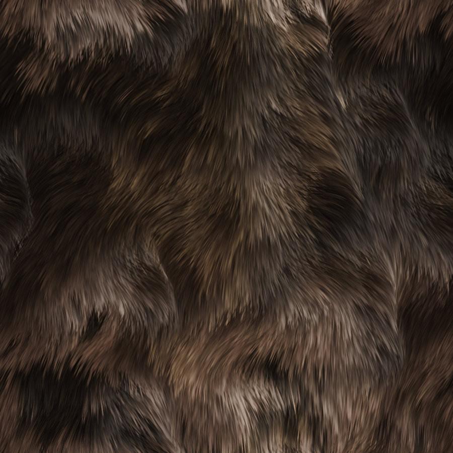 Seamless Animal Fur Texture