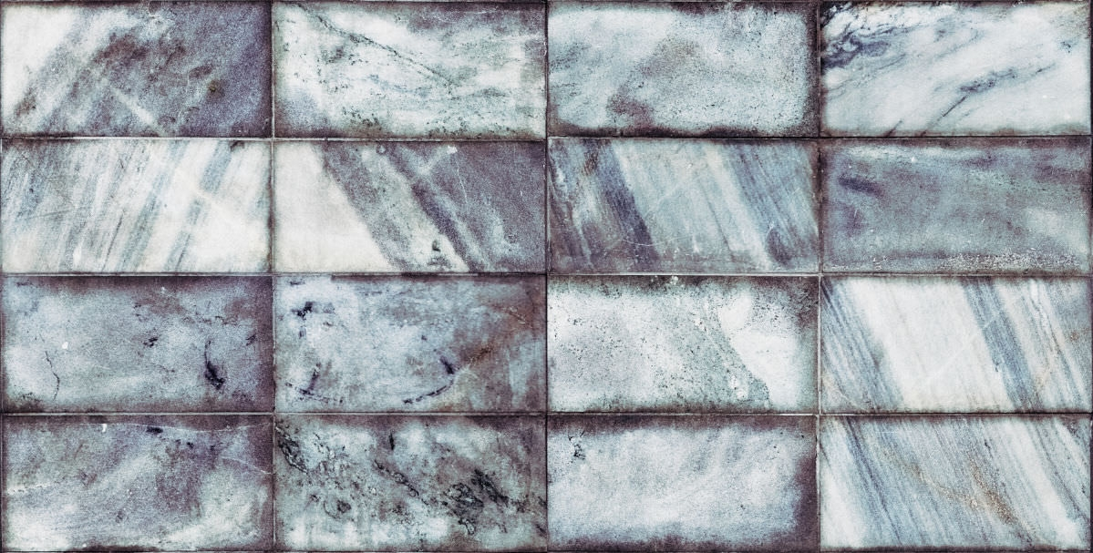 Seamless Bluich Marble Tiles Texture
