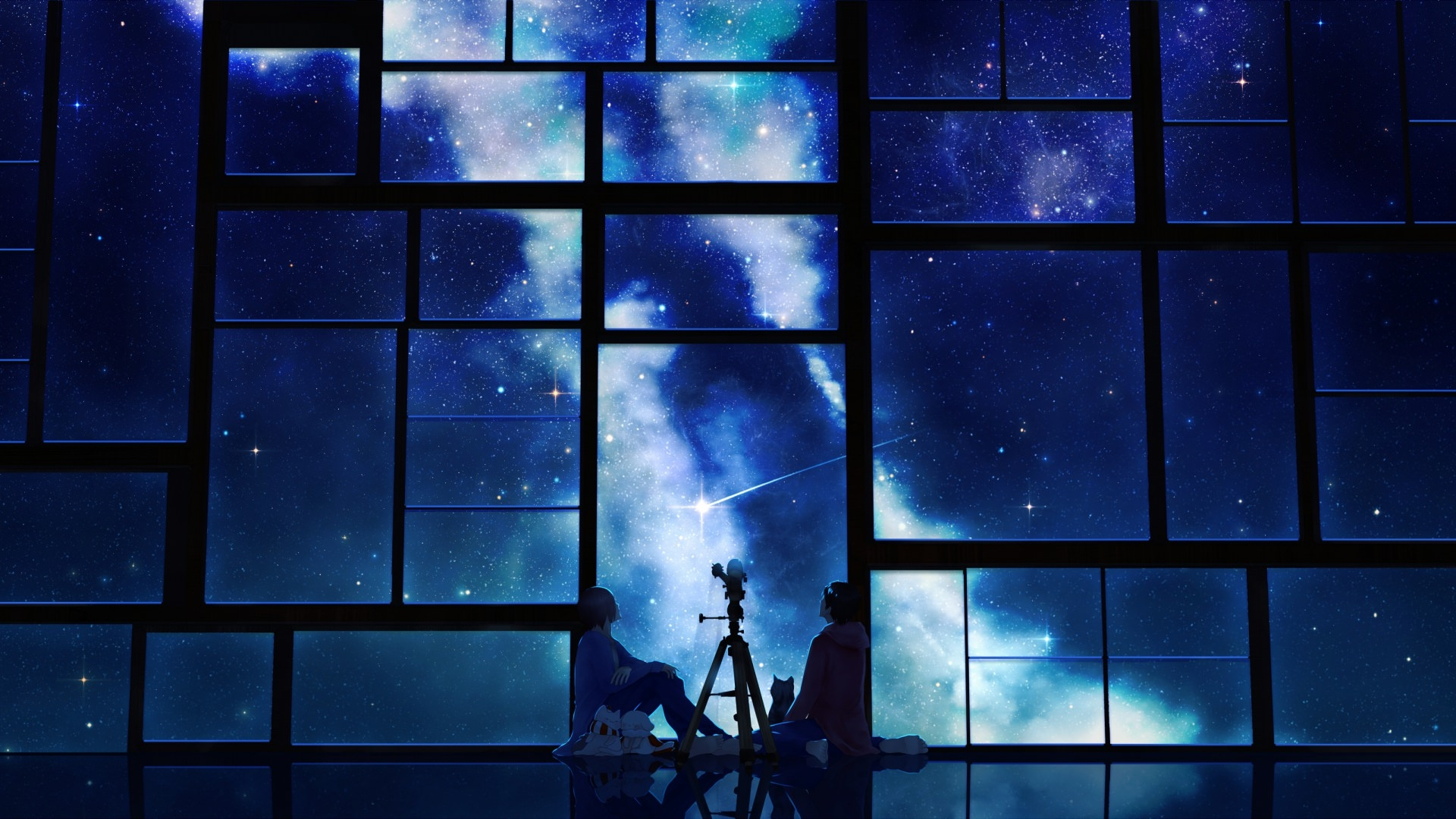 Sky Anime Background