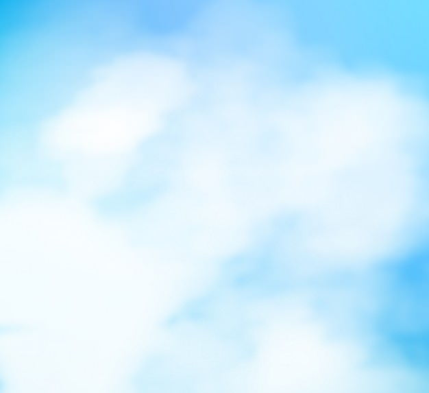 Sky Blue Watercolor Background