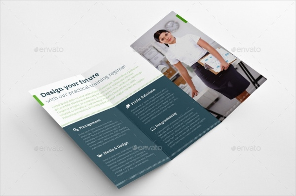 Smart Education Trifold Course Brochure