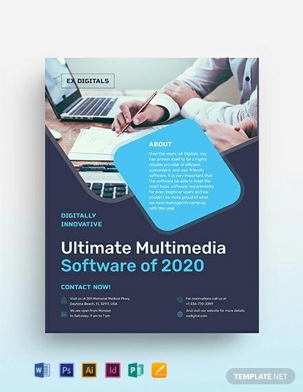 software flyer