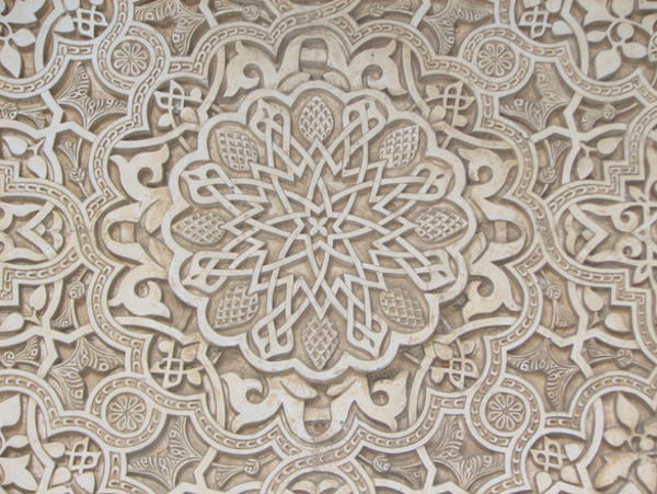 Star Lace Pattern At Centre