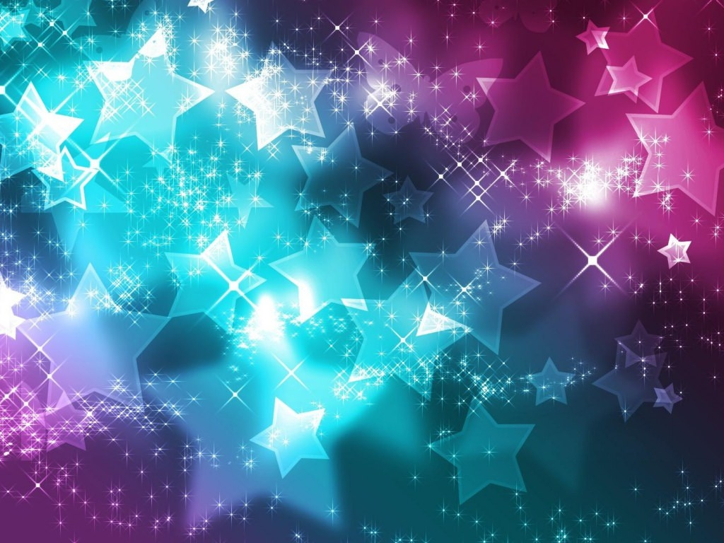 Stars Glittering Backgrounds