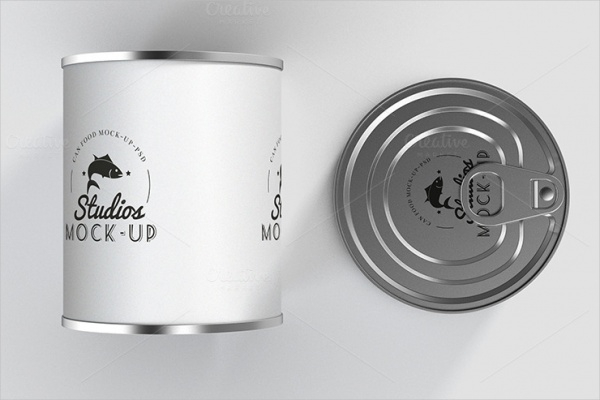 Studios Canned Preserve Packaging