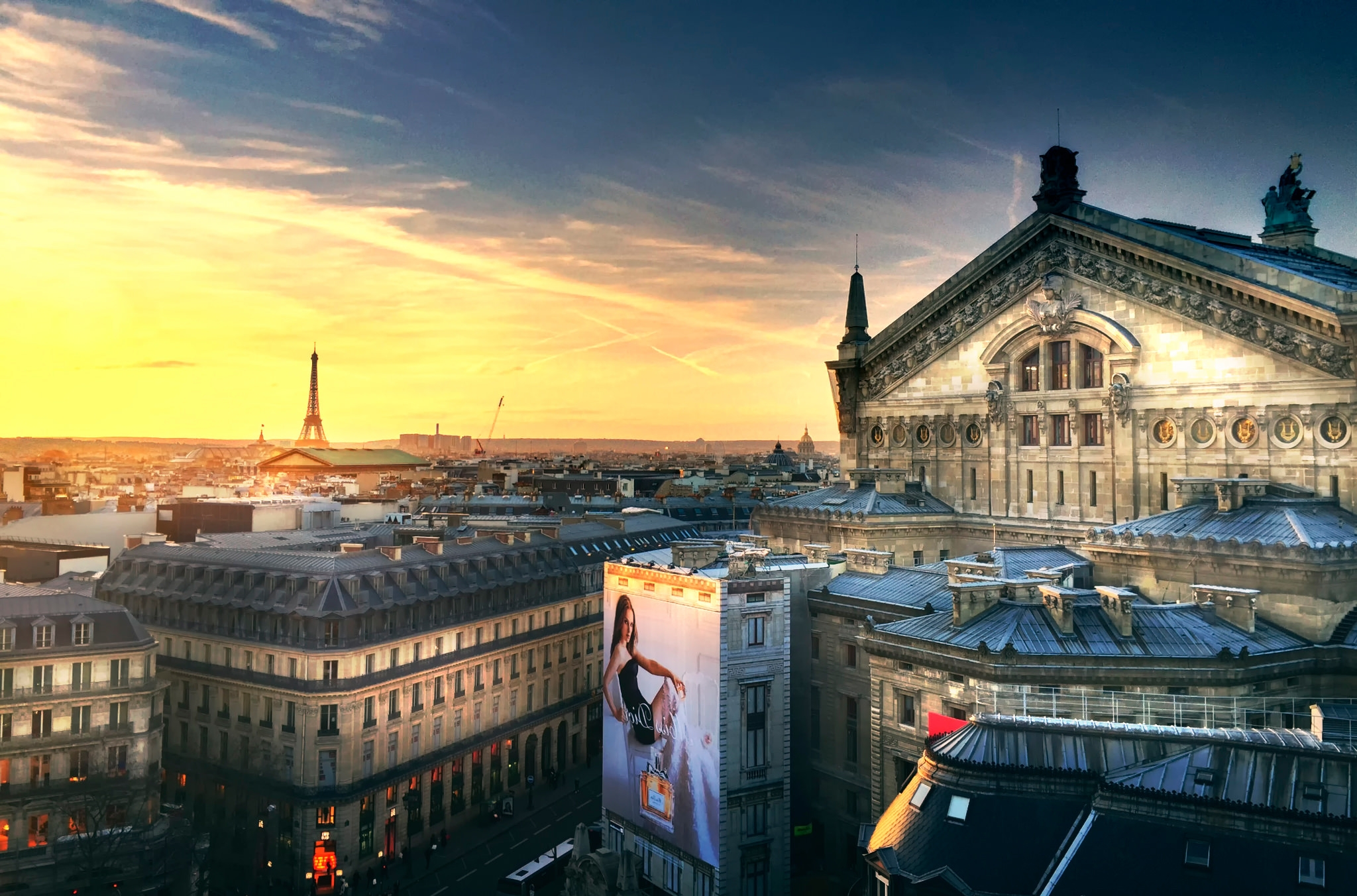 Stunning Paris Background