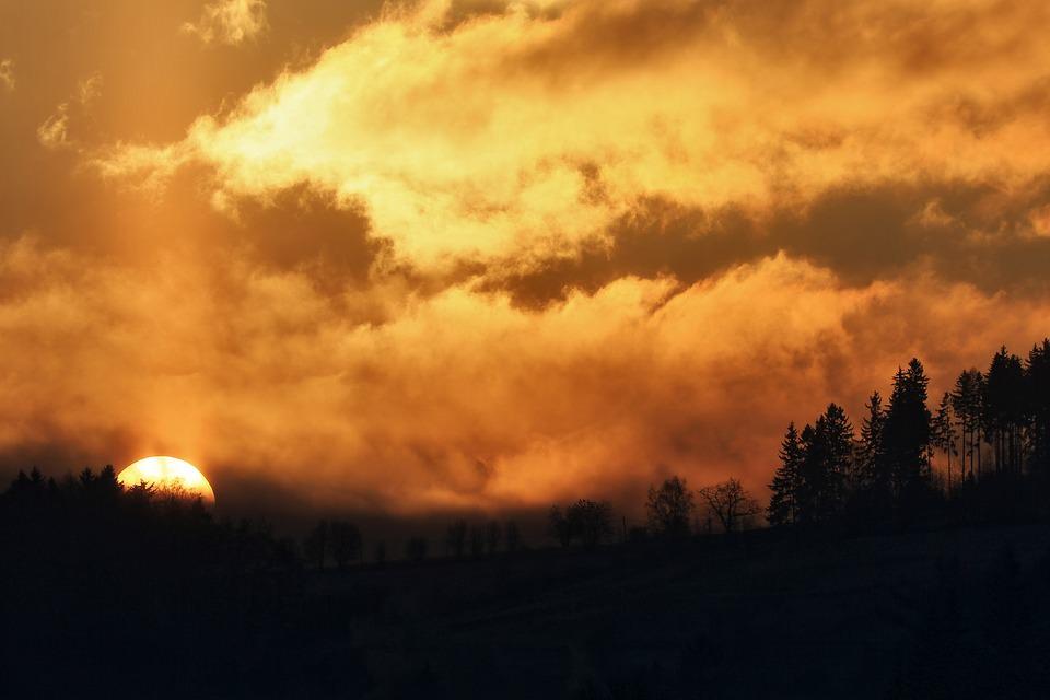 Sun Rise Landscape Wallpaper