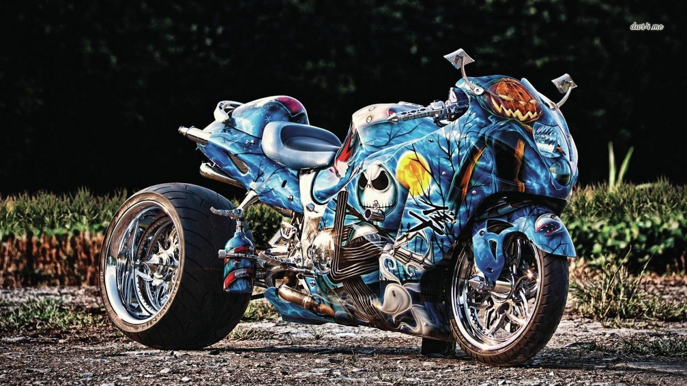 Suzuki Hayabusa Motorcycle Wallpaper