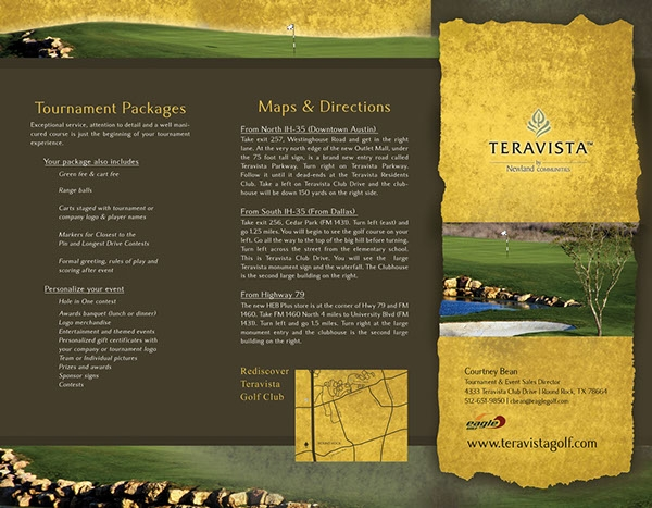 Teravista Golf Course Brochure