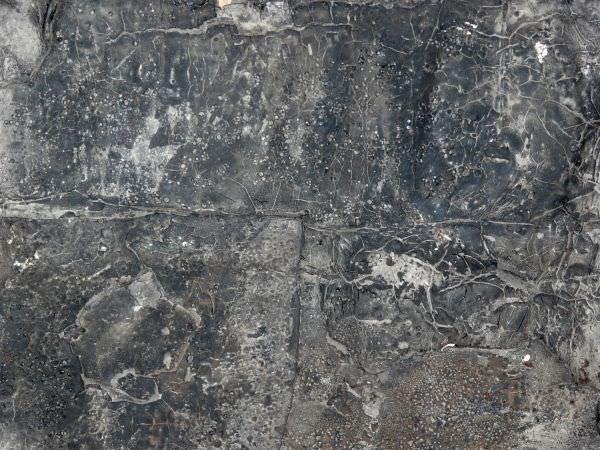 Texture of Dark Plastic Material