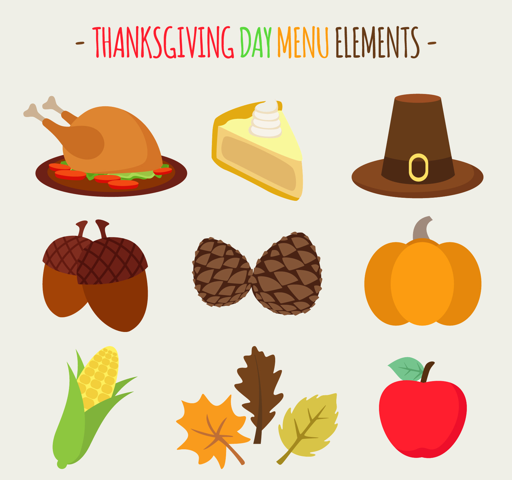 40 Free Thanksgiving Icons FreeCreatives