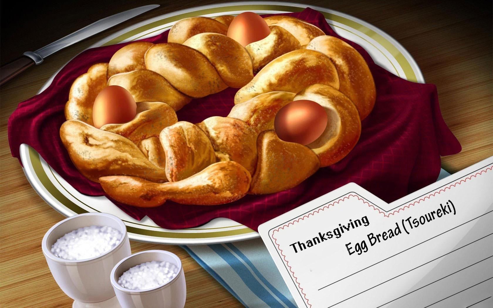 Thanksgiving Stuff Bread Wallpaper