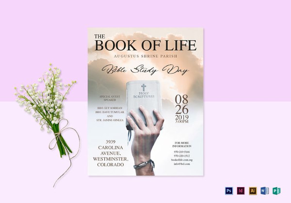 The Book of Life Flyer Template in Word
