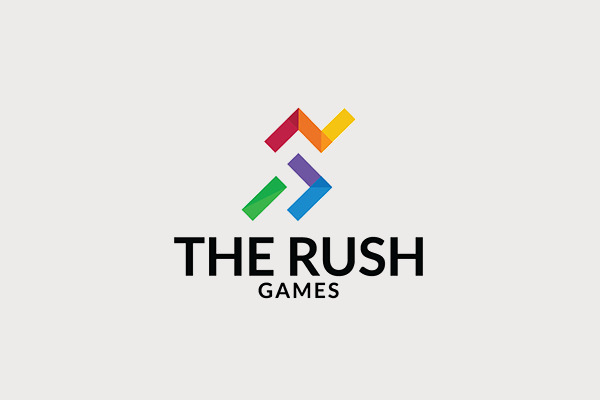 The Rush Games Sport Logo