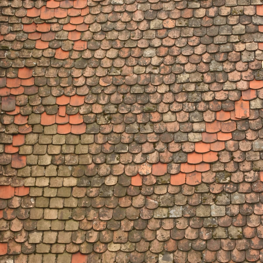 Tiled Roof Texture For Free