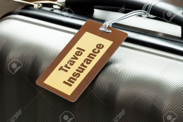 Travel Insurance Luggage Tag Tied