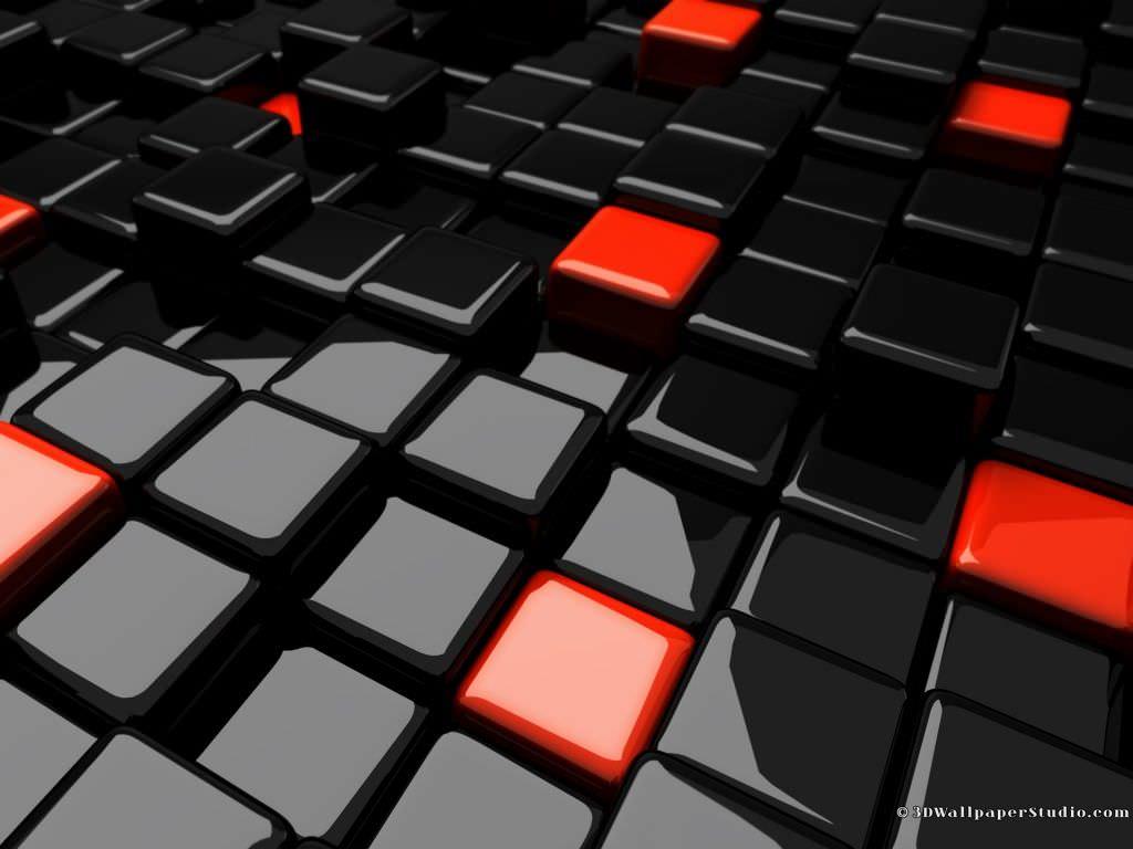 Tremendous 3D Cube Wallpaper