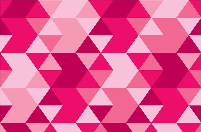 Triangles Pink Vector Background