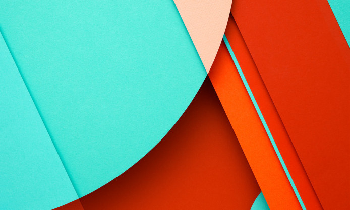 Turquoise Material Design Pattern