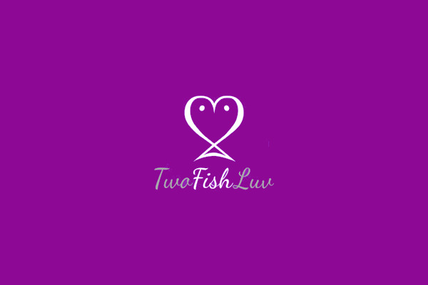 Two Fish Luv Logo Design
