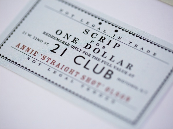 Typography Event Identity Membership Card