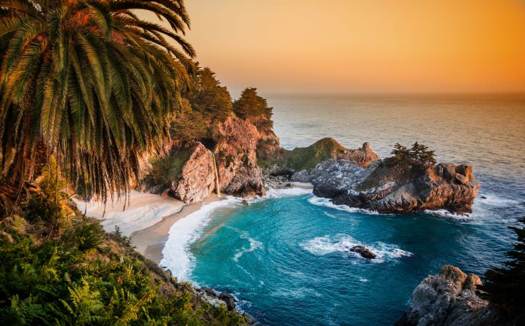 Ultra HD California Pacific Ocean Wallpaper