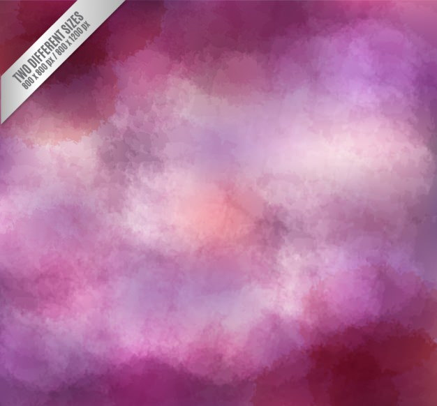 Vector Abstract Purple Watercolor Background
