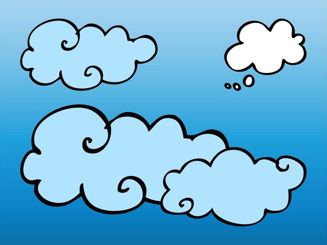Vector Clouds For Free Download