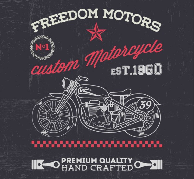 Vintage Motorcycle Free For Download