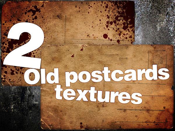 Vintage Postcard Textures
