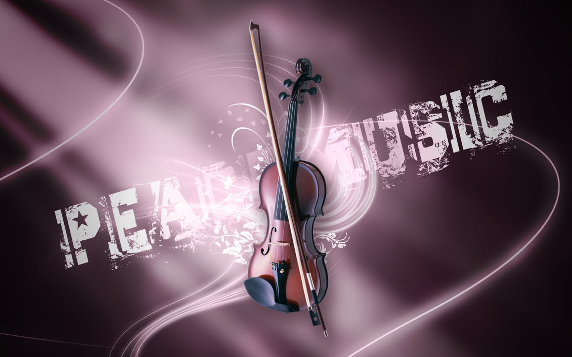 Violin Music Wallpaper for Desktop