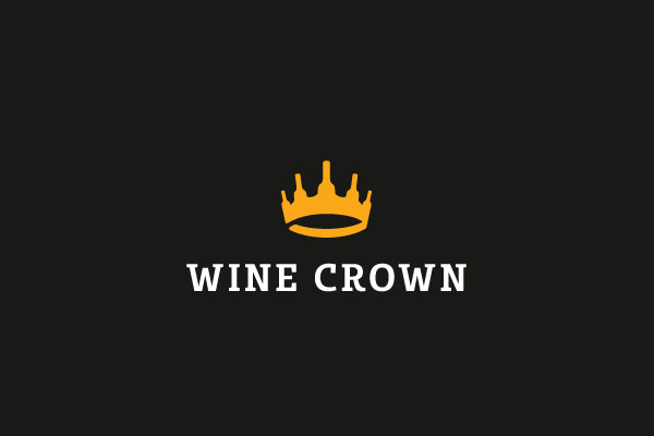 Wine Crown Logo Design