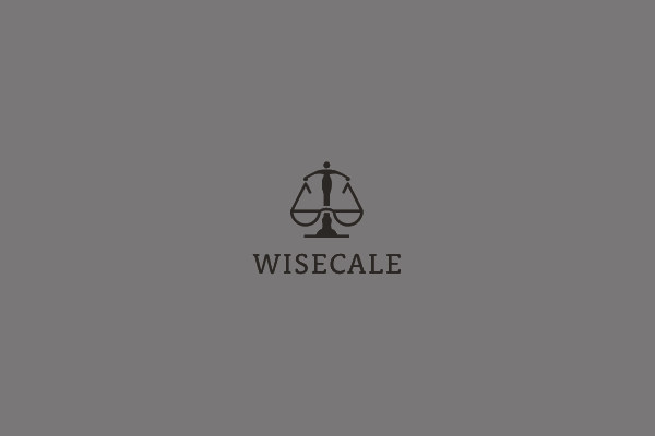 Wisecale Law Firm Logo Design