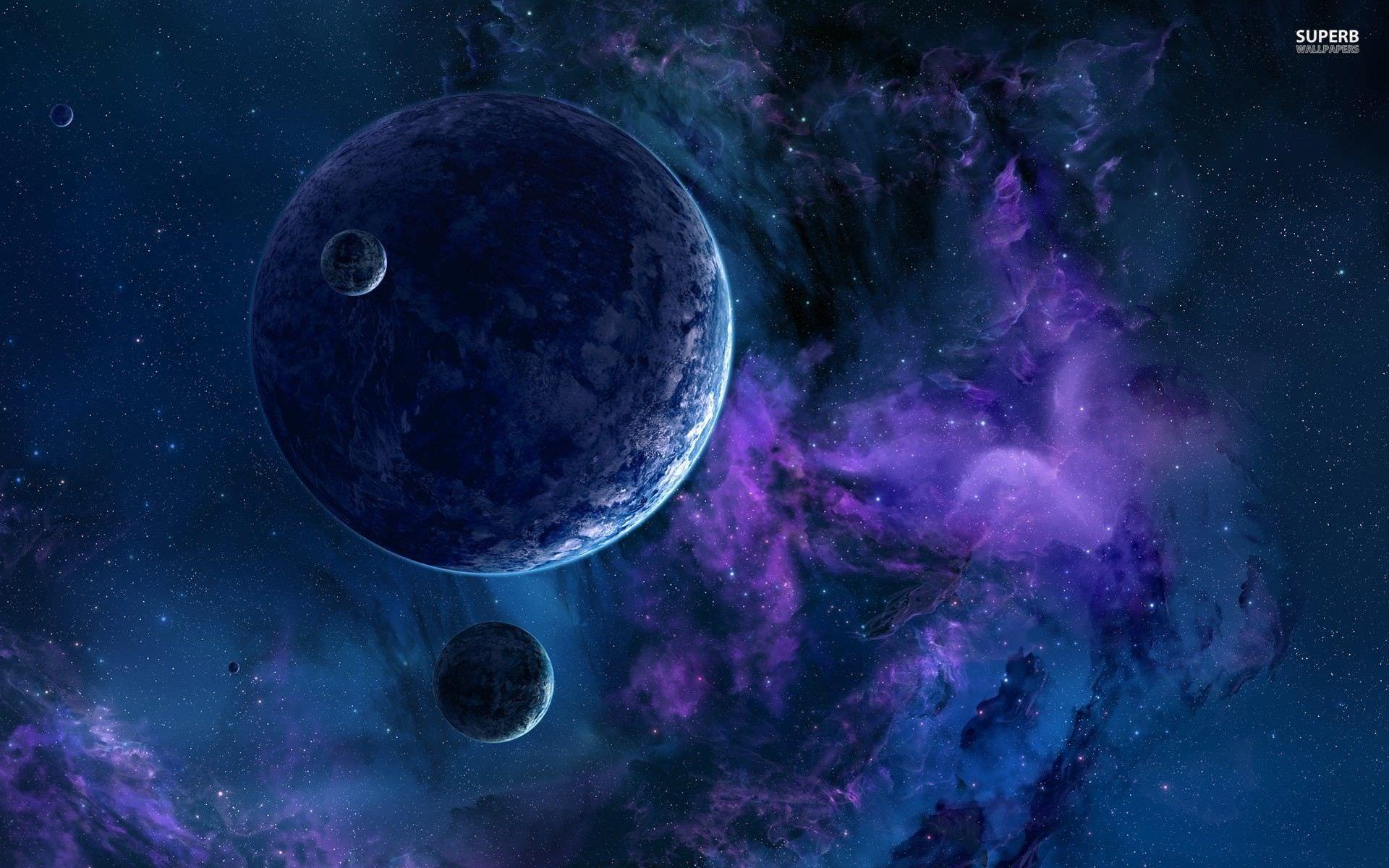 Wonderful Galaxy Background