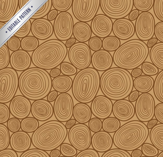 Wooden Pattern Background Free Vector