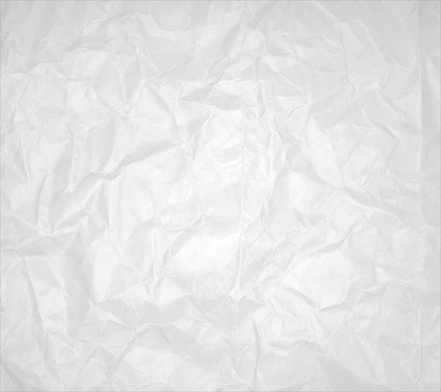 Wrinkled White Paper Background